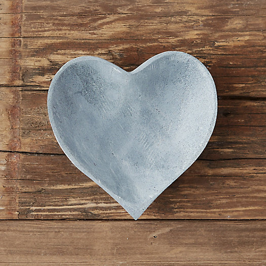 View larger image of Stone Heart Soap Dish