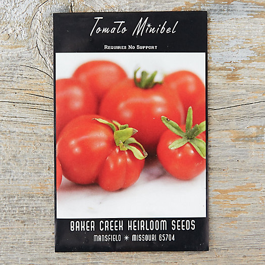 View larger image of Minibel Tomato Seeds