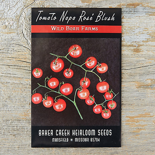 View larger image of Napa Rose Blush Cherry Tomato Seeds