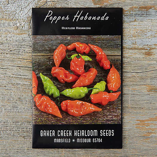 View larger image of Sweet Habanada Pepper Seeds