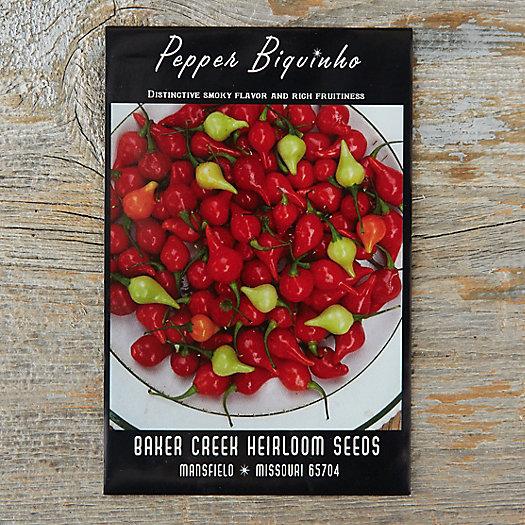 View larger image of Hot Biquinho Pepper Seeds