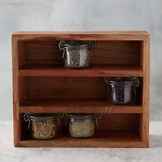 View larger image of Acacia Spice Rack