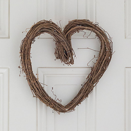 View larger image of Solid Grapevine Heart Wreath