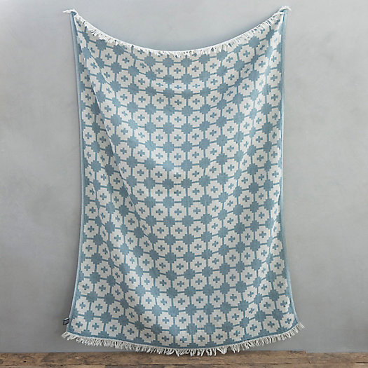 View larger image of Abstract Flowers Cotton Throw
