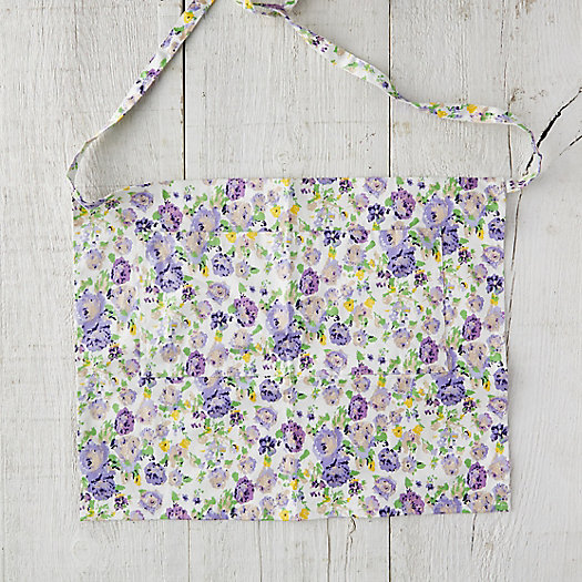 View larger image of Floral Twill Garden Apron