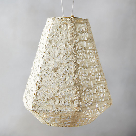View larger image of Mosaic Petal Solar Lantern