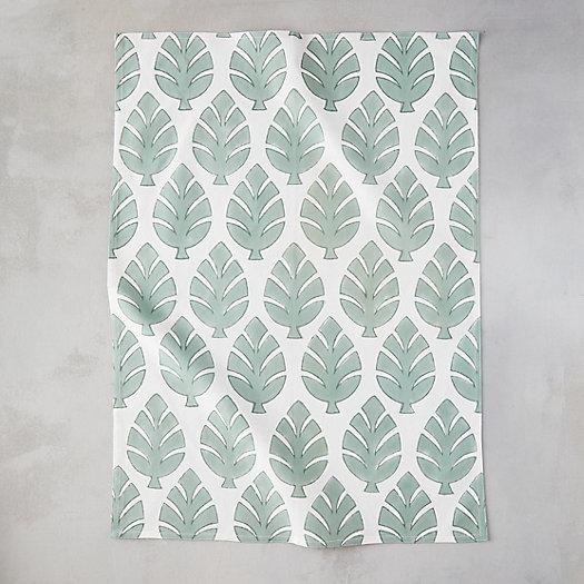 View larger image of Monstera Leaf Tea Towel