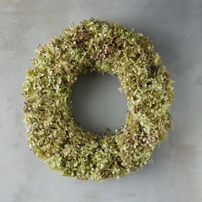 Limelight Green Hydrangea Wreath