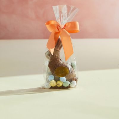 Milk Chocolate Bunny with Eggs