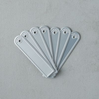 Rectangle Aluminum Plant Tags, Set of 10
