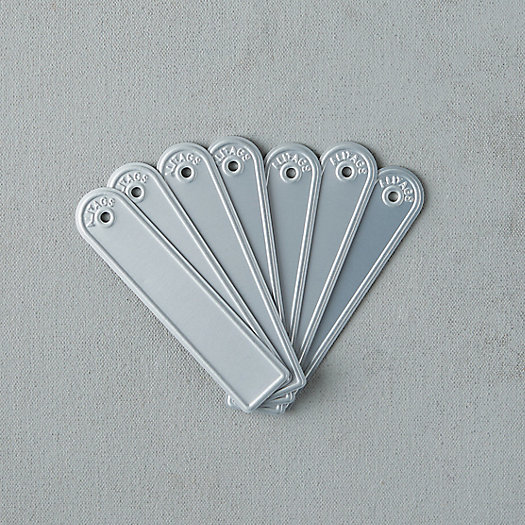 View larger image of Rectangle Aluminum Plant Tags, Set of 10