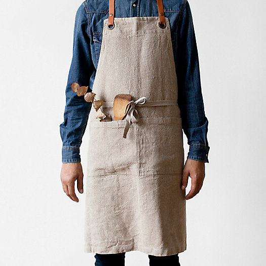 View larger image of Rustic Linen Apron