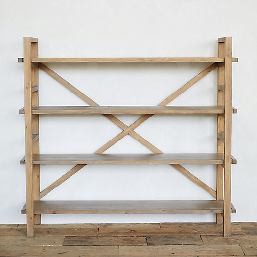 View larger image of Reclaimed Pine Crossback Shelf