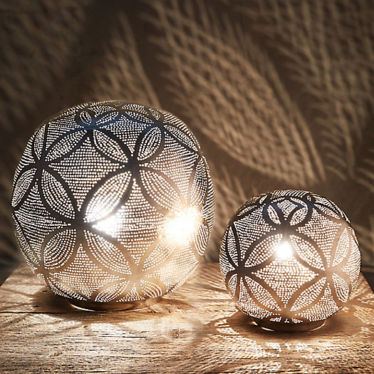 View larger image of Zenza Circles Sphere Table Lamp