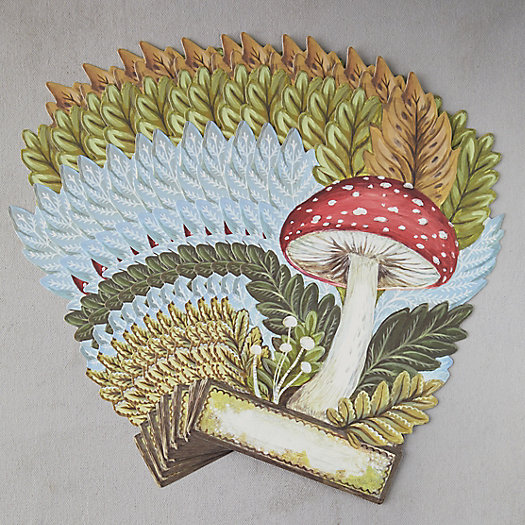 View larger image of Mushroom Place Card Set