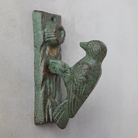 View larger image of Cast Iron Woodpecker Door Knocker