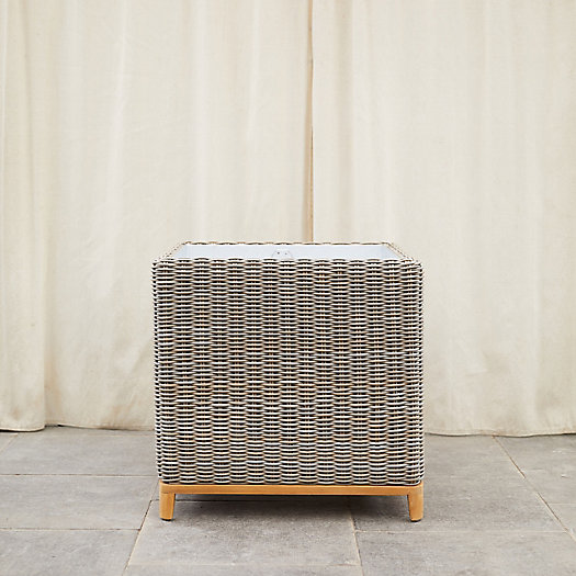 View larger image of All Weather Wicker Cube Planter