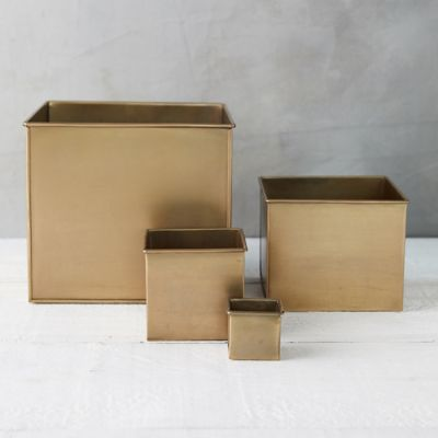Habit + Form Square Planter