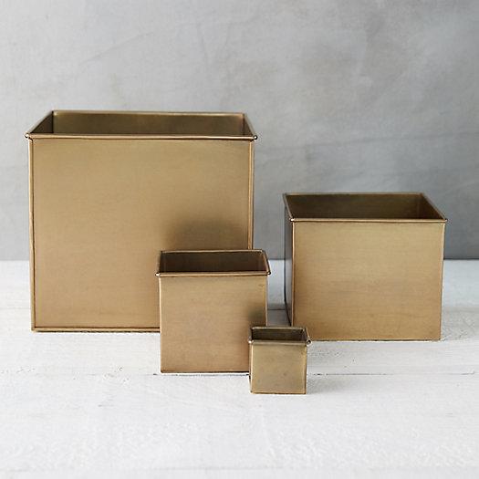 View larger image of Habit + Form Square Planter