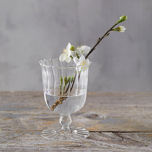 View larger image of Scalloped Glass Vase