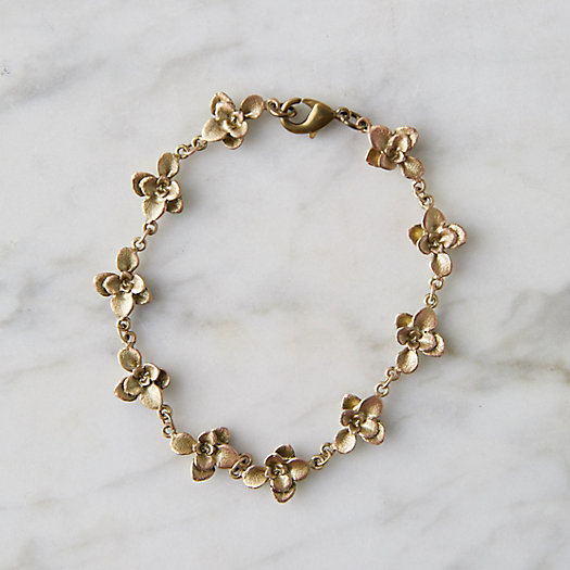 View larger image of Bronze Succulents Bracelet