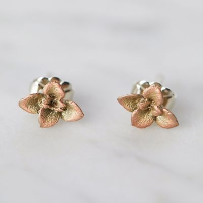 Bronze Succulents Earrings