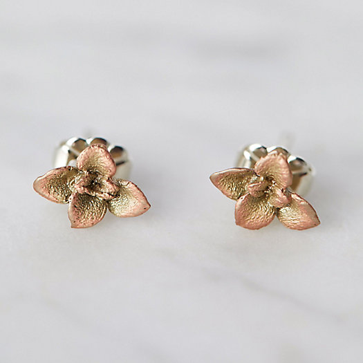 View larger image of Bronze Succulents Earrings