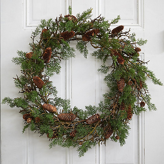 View larger image of Faux Twiggy Pine Wreath