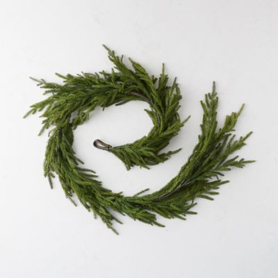 Faux Cryptomeria Garland