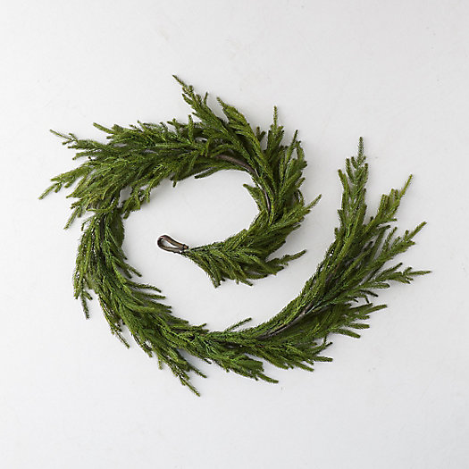 View larger image of Faux Cryptomeria Garland