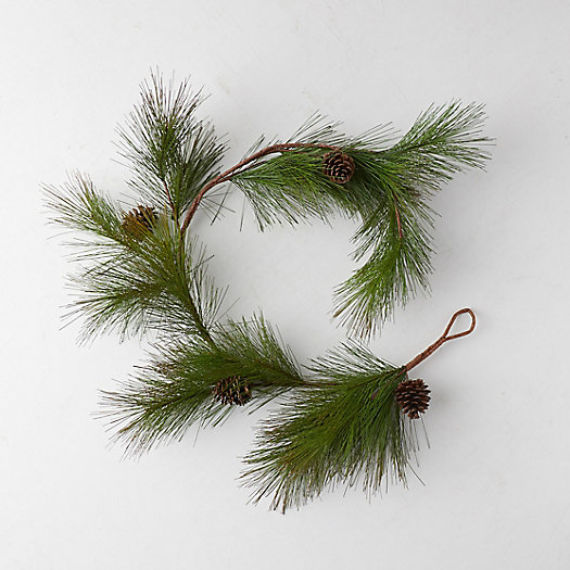 View larger image of Faux Pine Needle Garland