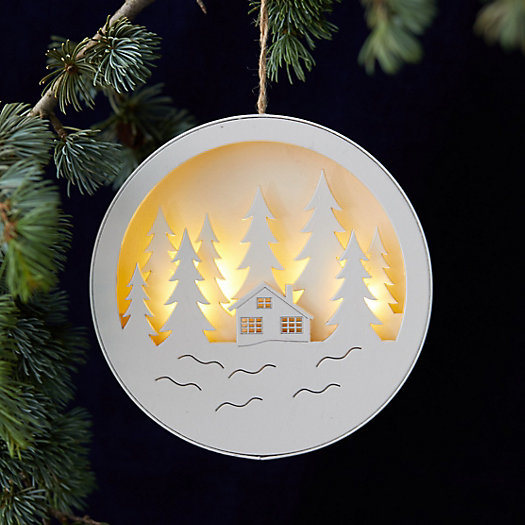 View larger image of Winter Scene Round Ornament
