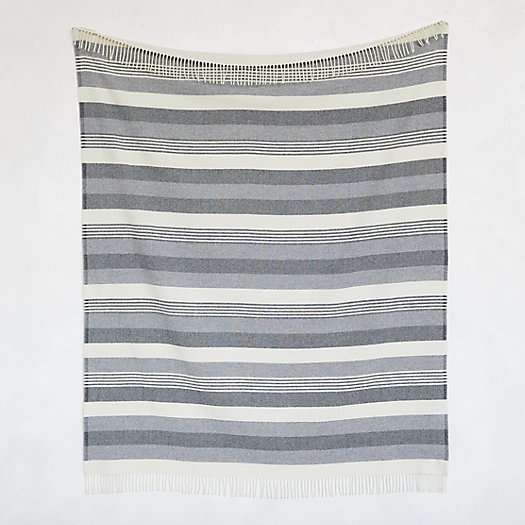 View larger image of Pendleton Striped Wool Throw