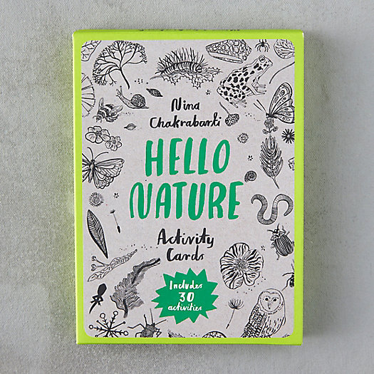 View larger image of Hello Nature Activity Cards