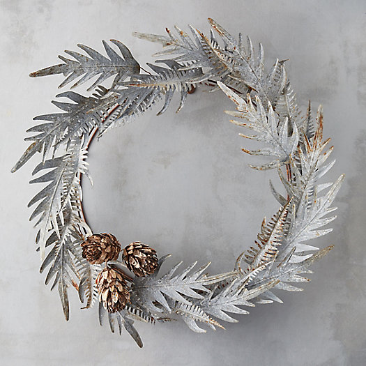 View larger image of Protea Fern Iron Wreath
