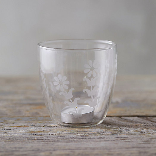 View larger image of Etched Glass Votive Holder
