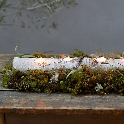 View larger image of Birch Log Tea Light Holder