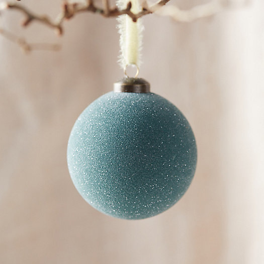 View larger image of Glittered Glass Ornament