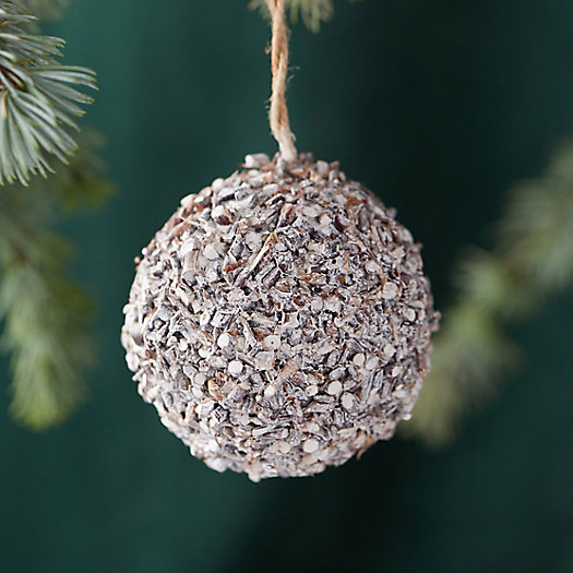 View larger image of Birch Bark Globe Ornament
