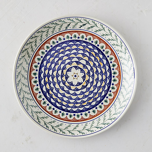 View larger image of Evergreen Ceramic Serving Platter