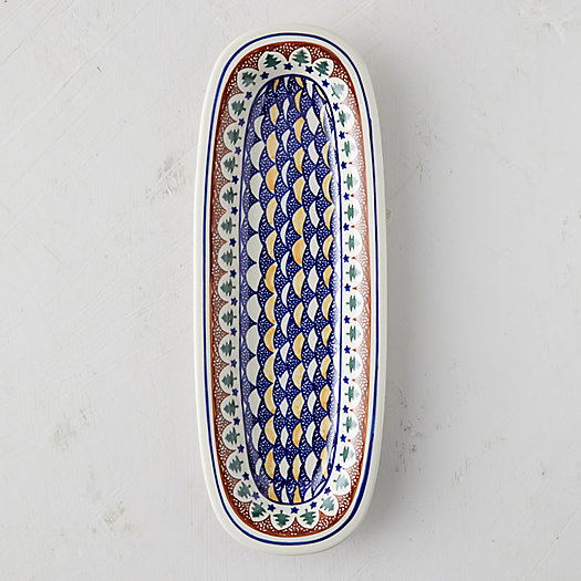 View larger image of Evergreen Ceramic Serving Platter