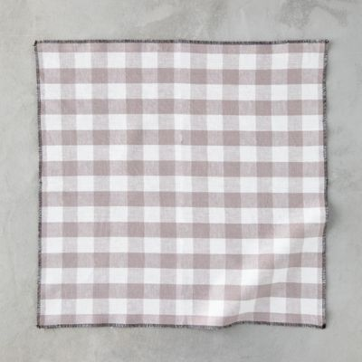 Checked Napkins, Set of 4