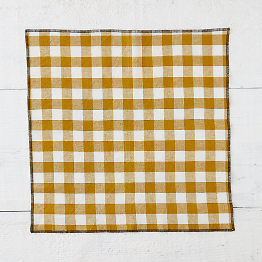 View larger image of Checked Napkins, Set of 4