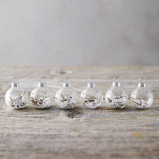 View larger image of Forest Bauble Place Holders, Set of 6