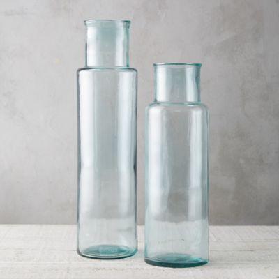 Glass Squared Cylinder Vase