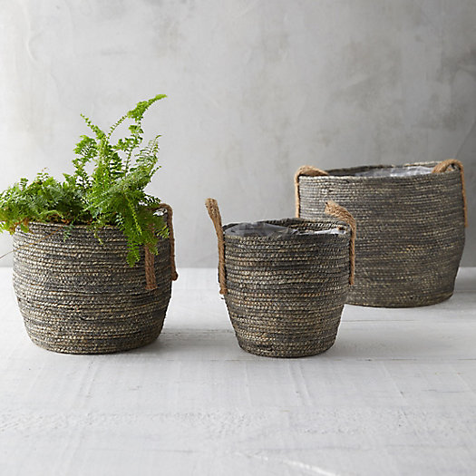 View larger image of Cornleaf Basket Planter