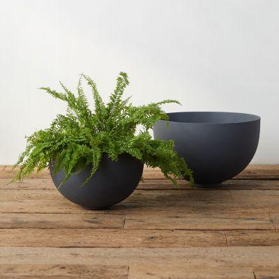 Fiber Round Bowl Planter