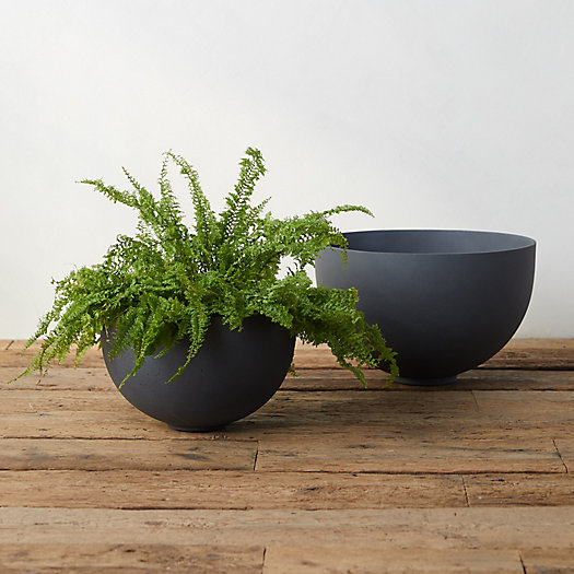 View larger image of Fiber Round Bowl Planter