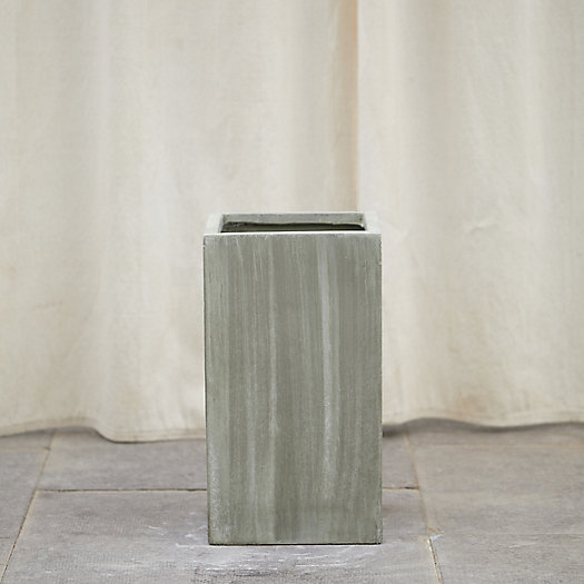 View larger image of Fiber Cube Planter, Tall