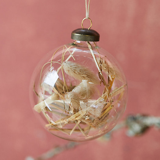 View larger image of Hay Filled Globe Ornament